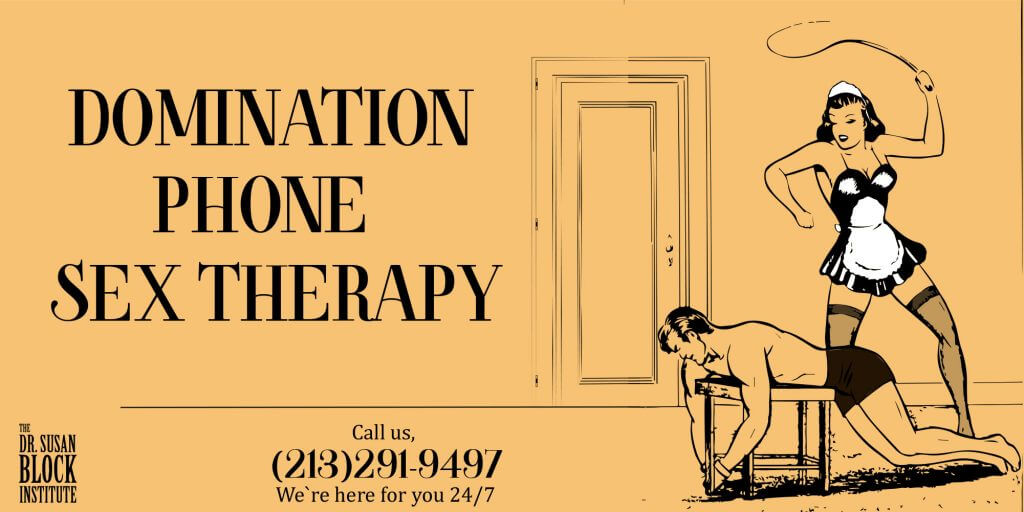Domination Phone sex therapy banner