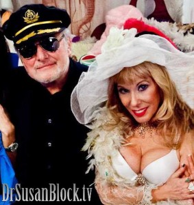 Dr. Suzy & Pr. Max celebrate 21 Years of Lawfully Wedded Bonobo SEX & True LOVE. Photo: JuxLii