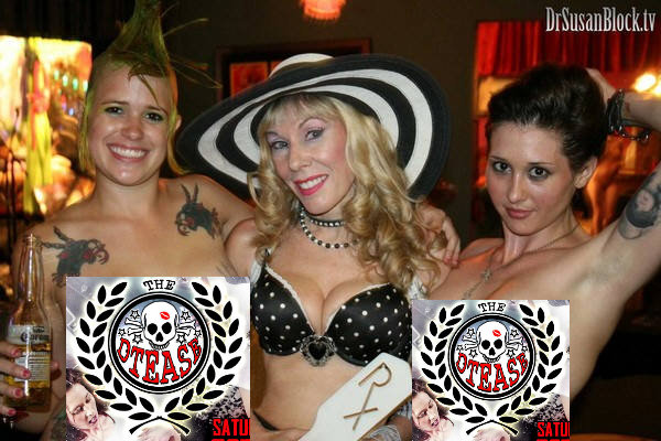 "The DTeasers, aka ""Unlicensed Professionals"" coming back to Bonoboville for Easter Eve! Photo: L'Erotique"