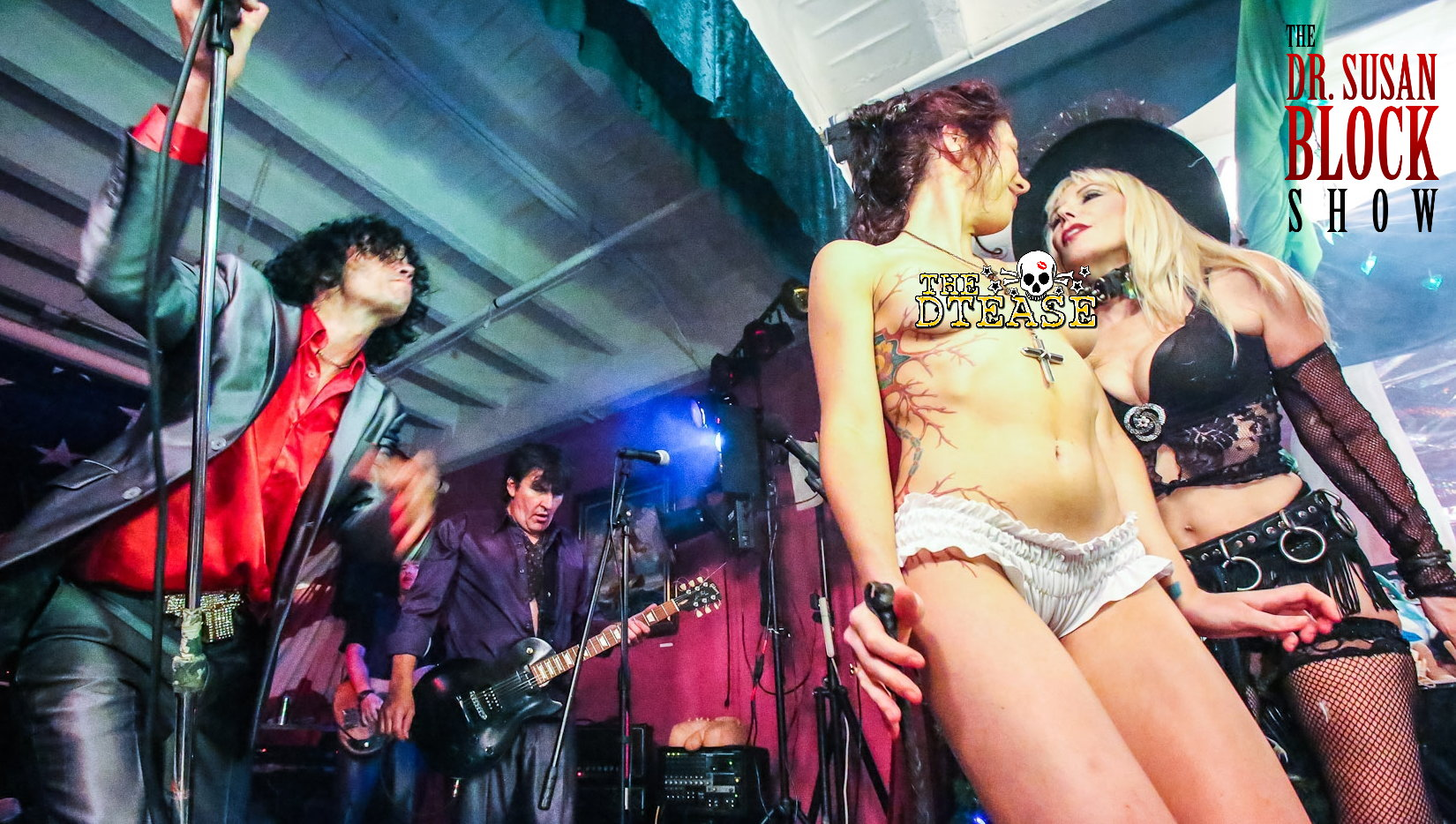 The DTease Sex-Rock DrSuzy.Tv with Cate Imperio. Photo: JuxLii