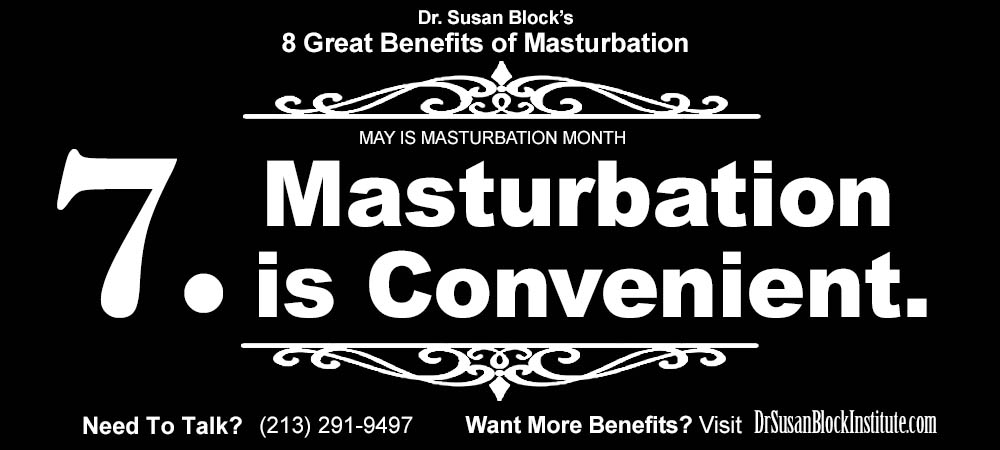 8-Benefits-Masturbation-7-Convenient