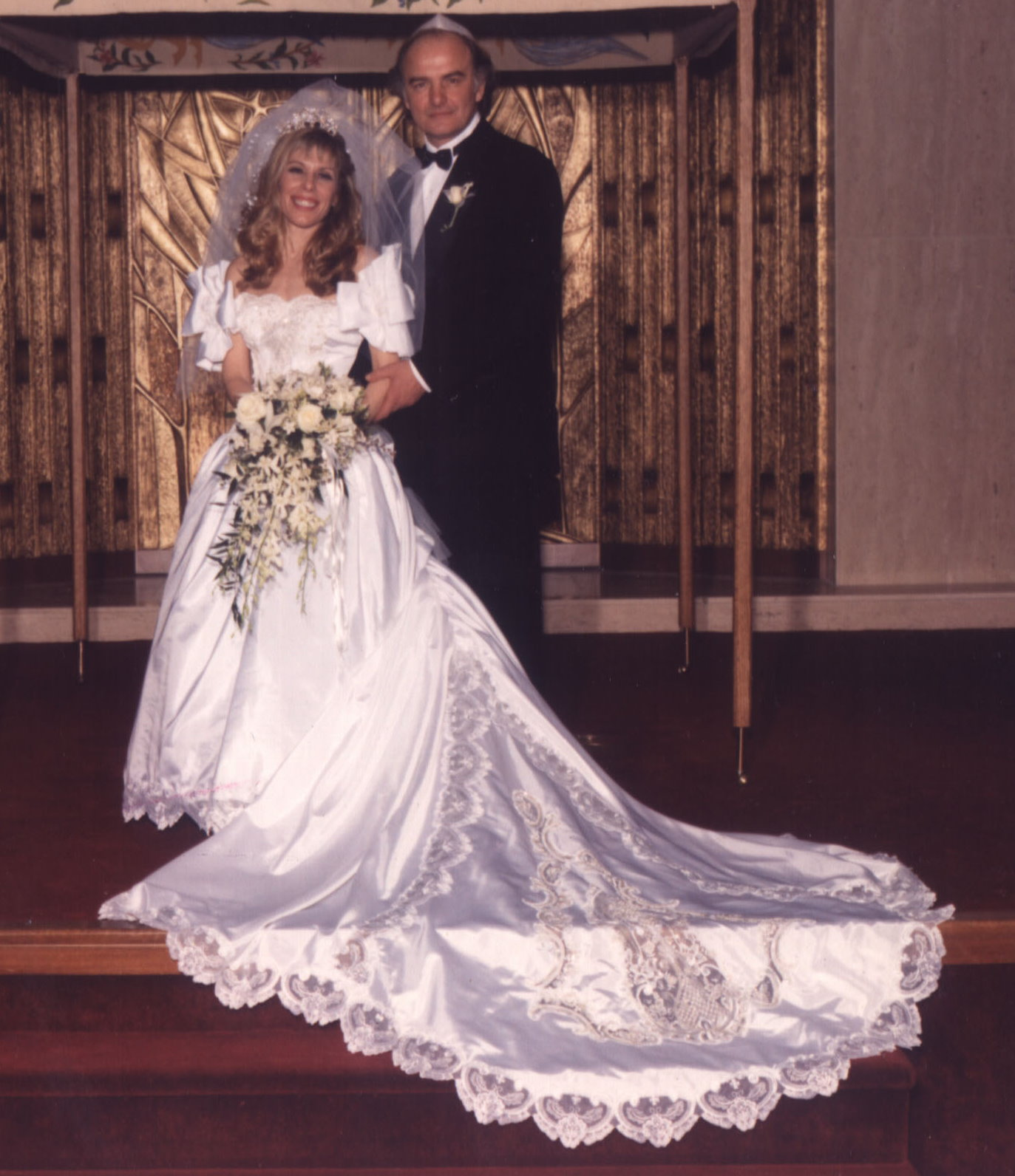 Dr. Max & Pr. Max get married! April 12, 1992